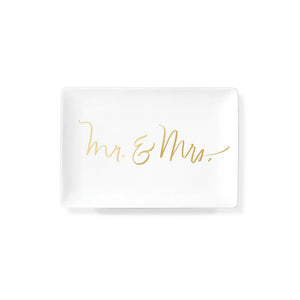 Mr & Mrs Ceramic Tray