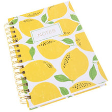 Load image into Gallery viewer, Lemon Hard Cover Journal