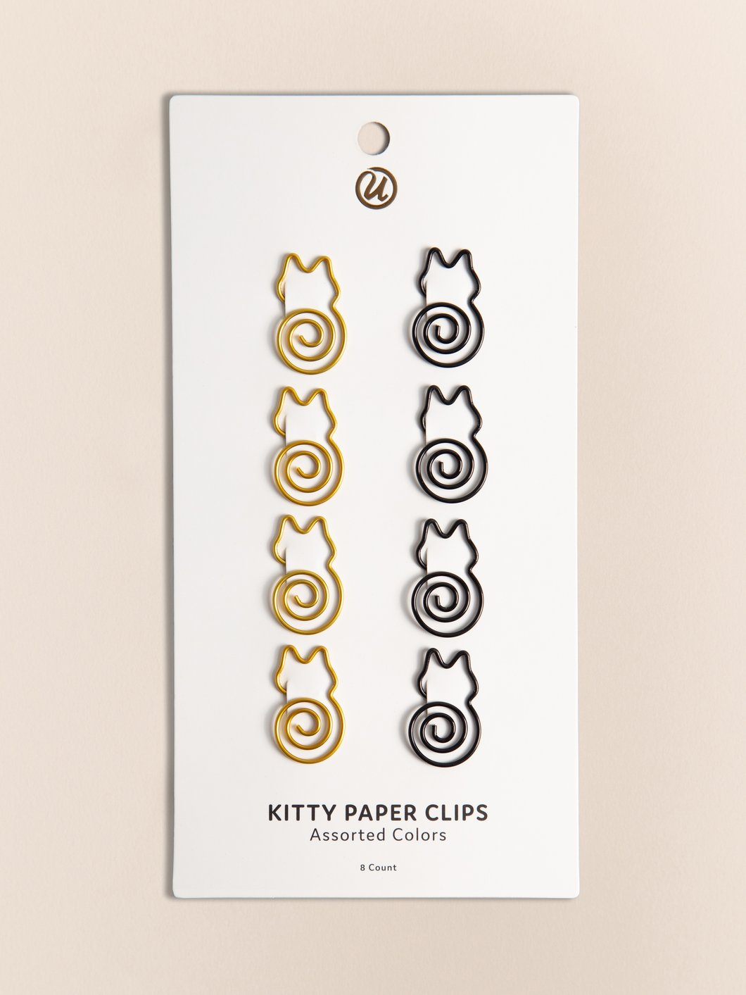 Cat Paperclip Set of 8