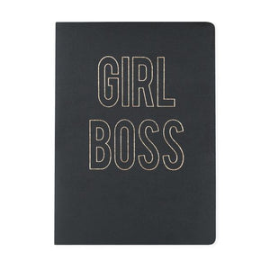Girl Boss Large Vegan Leather Journal