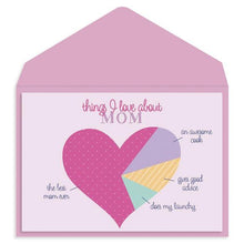 Load image into Gallery viewer, Heart Mother's Day Card