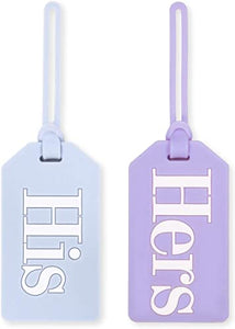 Bridal Luggage Tag, His & Hers
