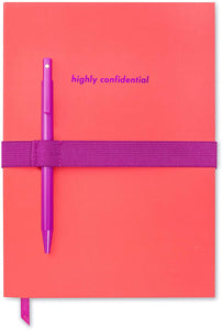 Highly Confidential, Pen & Notebook Set