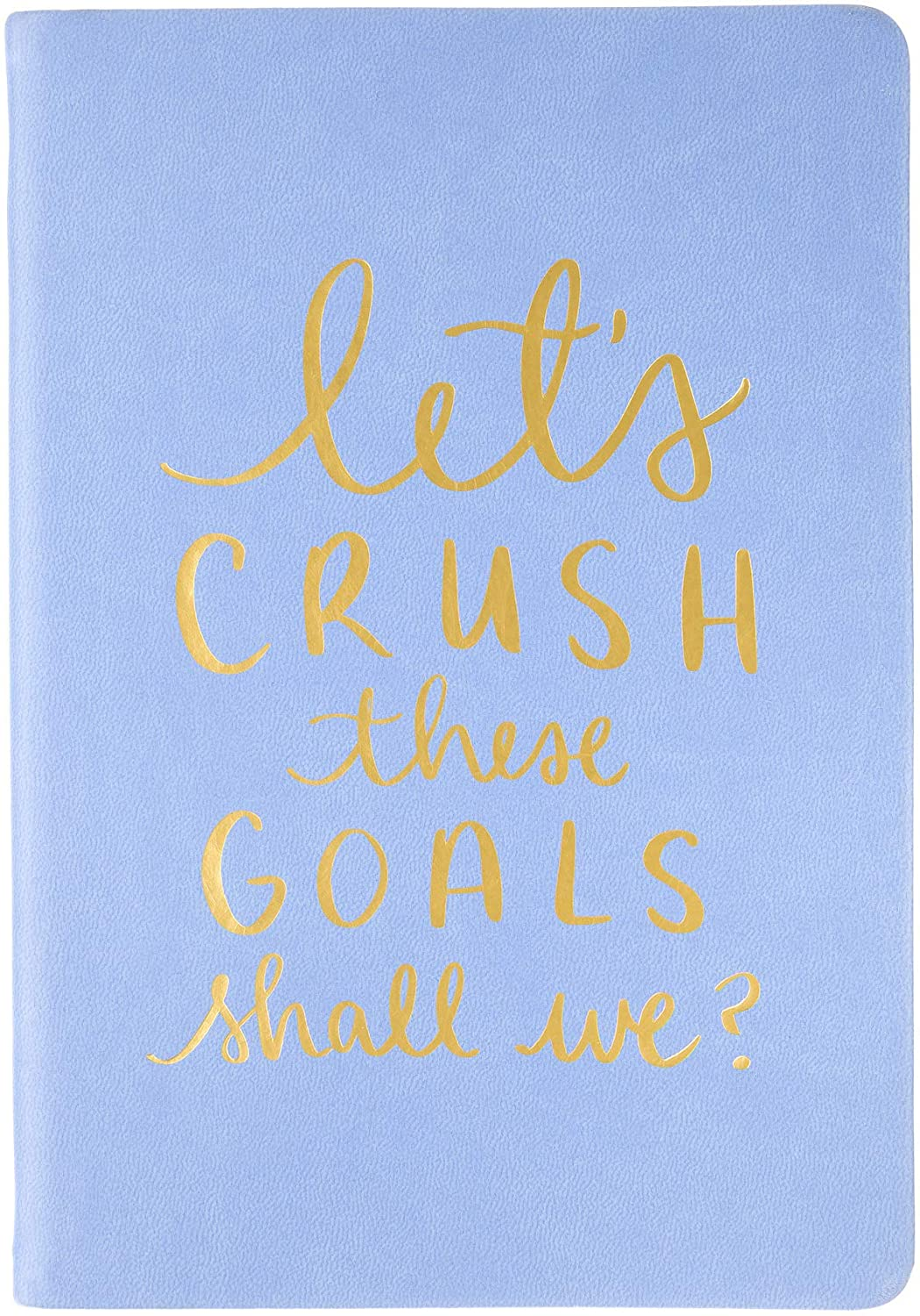 Crush These Goals Journal