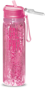 GRL PWR Confetti Water Bottle