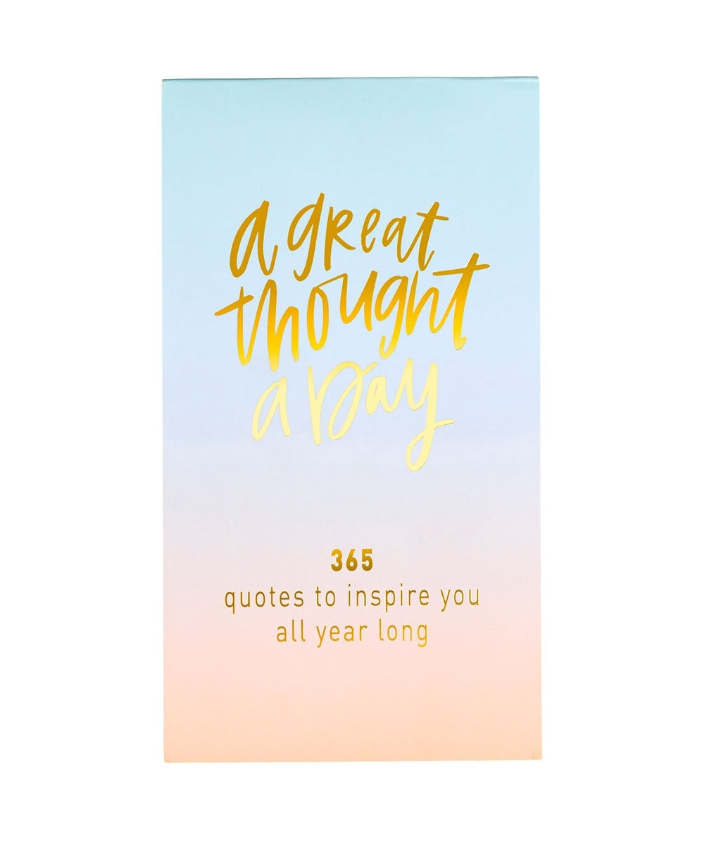 A Great Thought A Day, Ombre Notepad