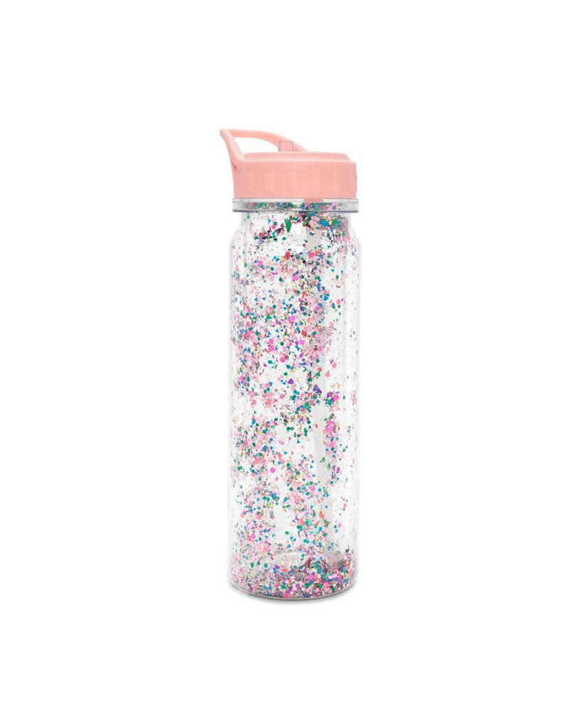 Water Bottle: Glitter Confetti