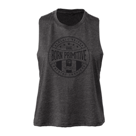 The Elevate Crop (Athlete Driven- Charcoal)