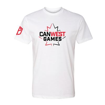 2019 CanWest Official T-Shirt (White)