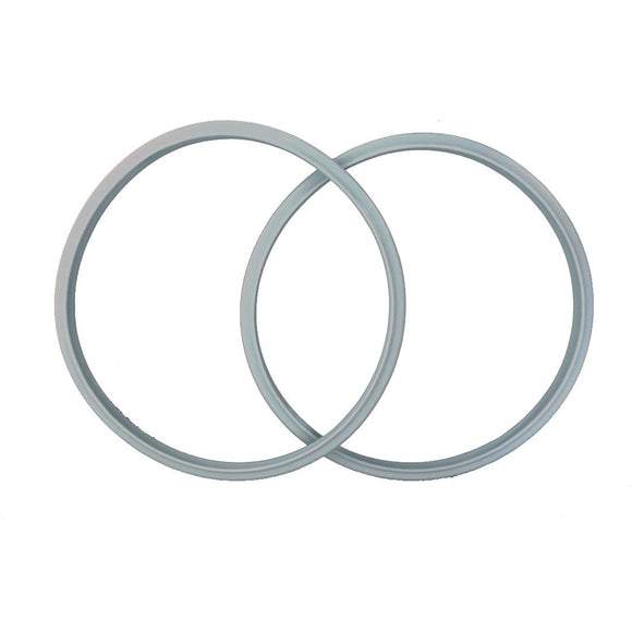 2-pack 9-inch FAGOR Compatible Replacement Pressure Cooker Silicone Sealing Rubber Gasket