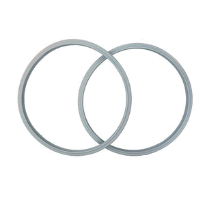 2-pack 22cm Compatible Silicone Sealing Gasket Seal Ring for T-FAL TEFAL Secure5