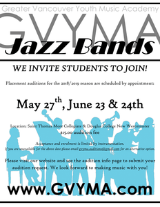 Jazz Band Audition Fee