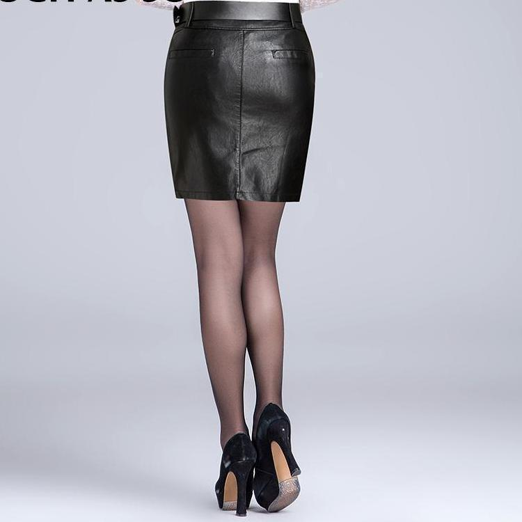 b07487e46959 Sexy Winter Skirt High Waist Leather Pencil Black Skirt - GoFashional Store.  NEXT. PREV. Zoom