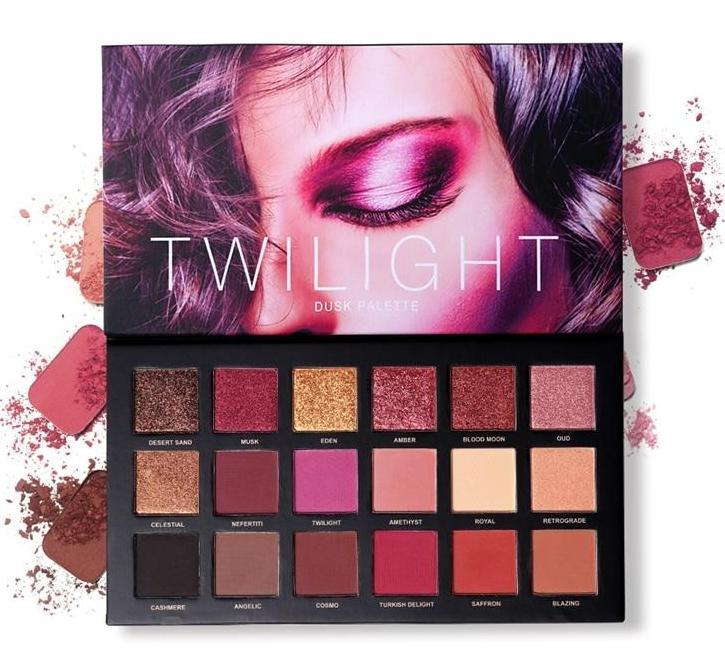 Magical 18 Colors Twilight & Dusk Pallet