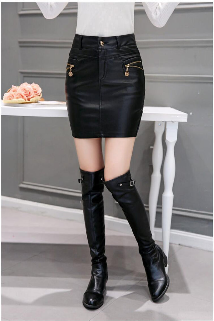 314d59ad8080 Sexy High Quality fashion leather skirt - GoFashional Store. NEXT. PREV.  Zoom. Previous