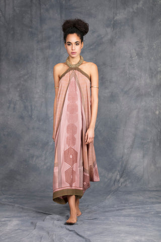 SABA DRESS DUSTY PINK