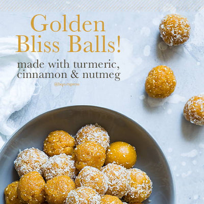 GOLDEN TURMERIC BLISS BALLS