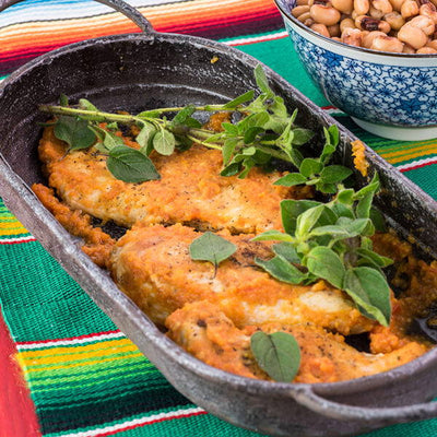 MEXICAN OREGANO BRINGS BOLD FLAVOR