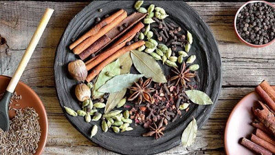 Spices of India; Turmeric and Garam Masala