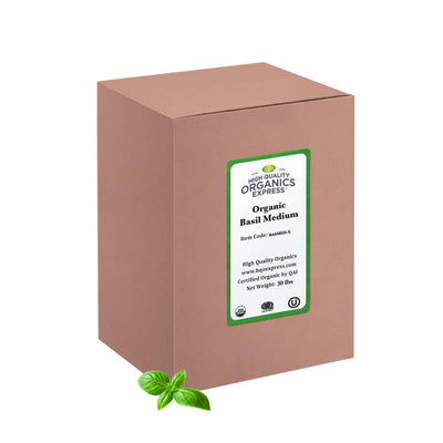 High Quality Organics Express Basil Box