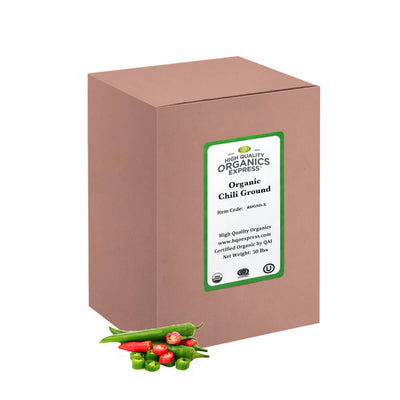High Quality Organics Express Chili Powder Bulk Box