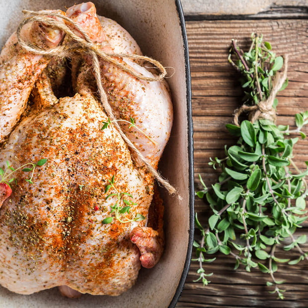 High Quality Organics Express Marjoram Chicken