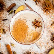 High Quality Organics Express Nutmeg in Chai Latte