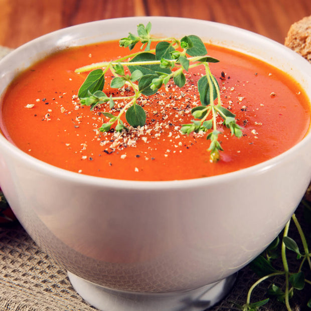 High Quality Organics Express Oregano in tomato soup