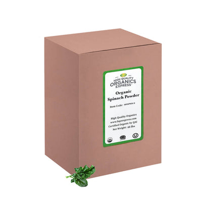 High Quality Organics Express Spinach Powder Bulk Box