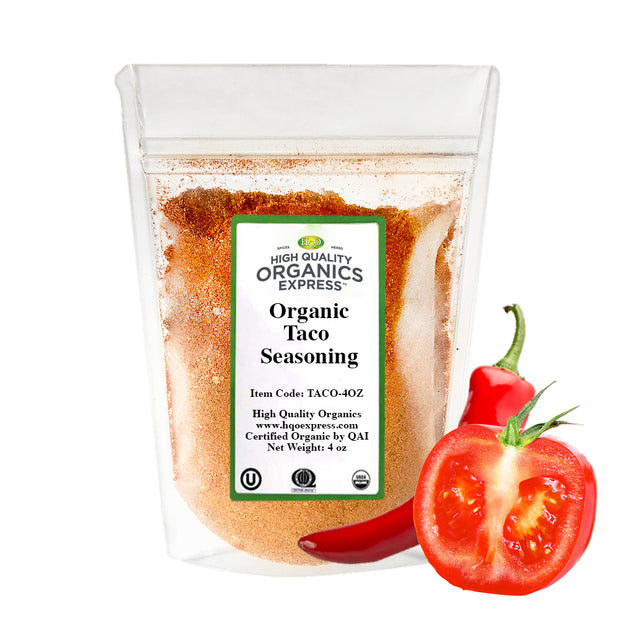Organic Taco Seasoning Resealable Bag
