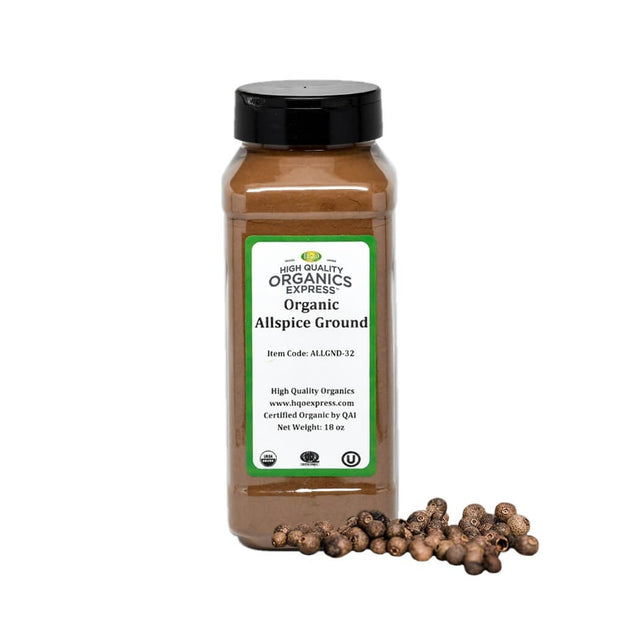High Quality Organics Express Allspice Ground Jar