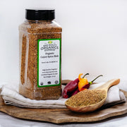 High Quality Organics Express Cajun Spice Display