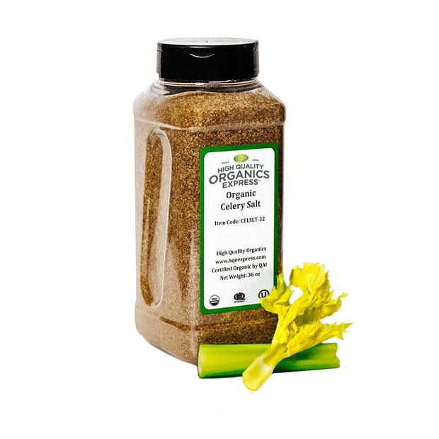 High Quality Organics Express Celery Salt Jar