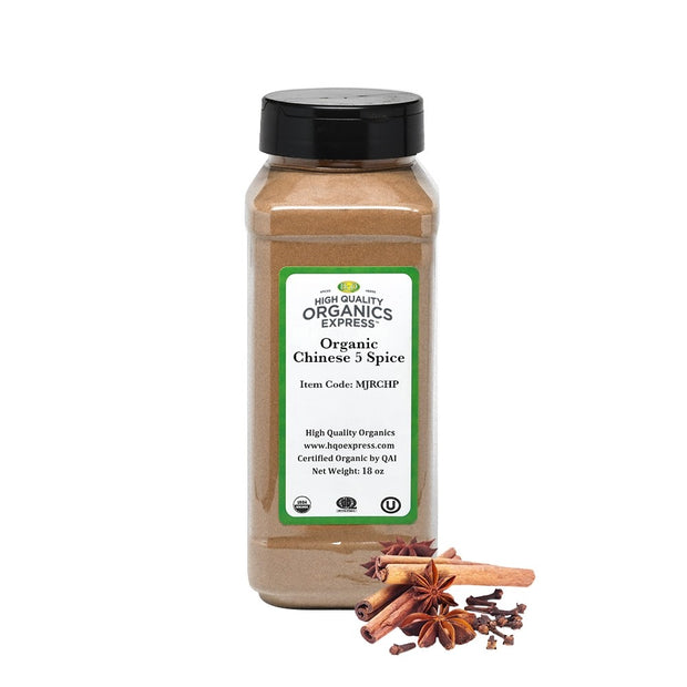 High Quality Organics Express Chinese 5 Spice Jar