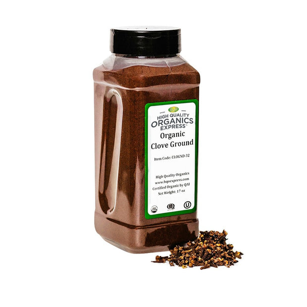 High Quality Organics Express Clove Ground Jar