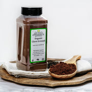 High Quality Organics Express Clove Ground Display