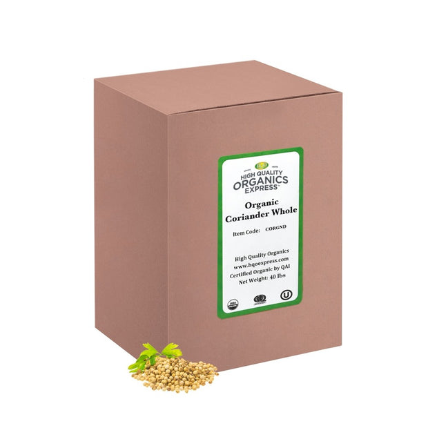 High Quality Organics Express Coriander Ground Box