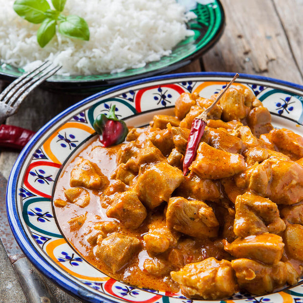 High Quality Organics Express Curry chicken