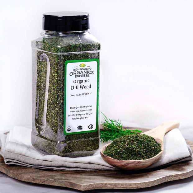 High Quality Organics Express Dill Weed Display