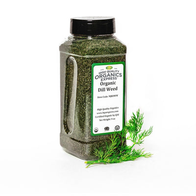 High Quality Organics Express Dill Weed Jar