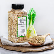 High Quality Organics Express Fennel Seed Whole Display
