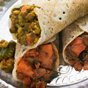 High Quality Organics Express Garam Masala lentils in dosa