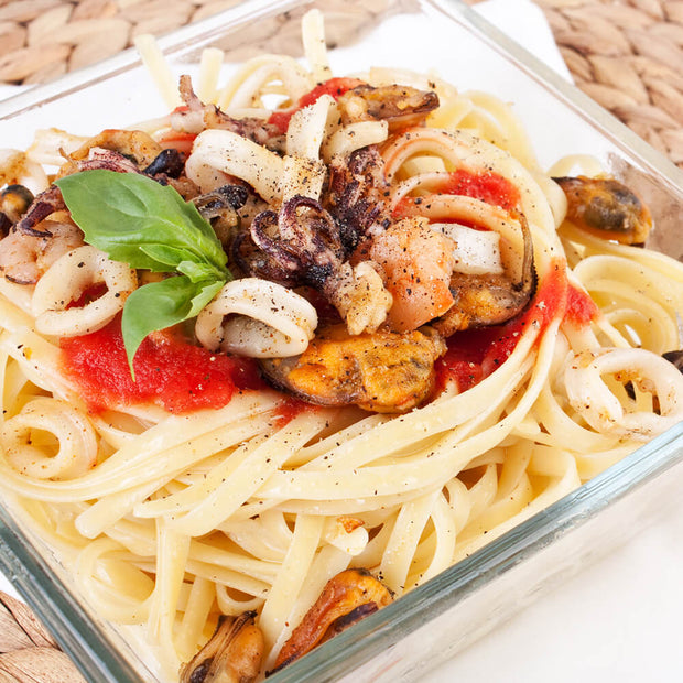 High Quality Organics Express Garlic Powder Seafood Pasta