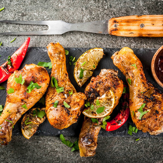 High Quality Organics Express Garlic Pepper Wings
