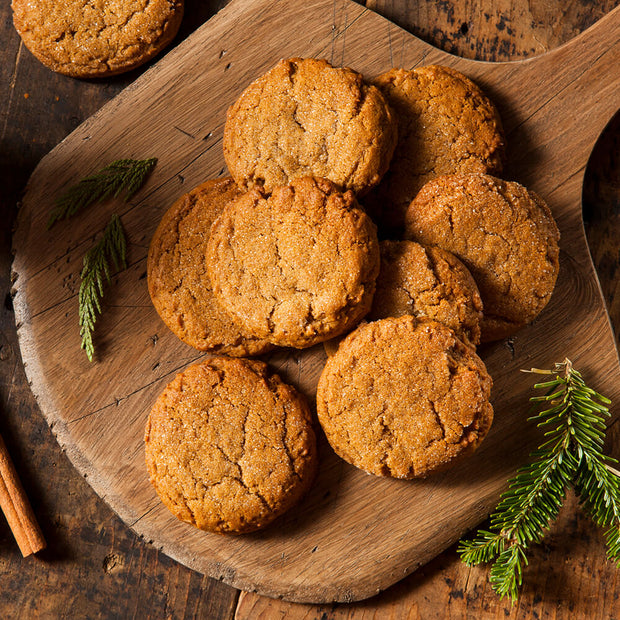 High Quality Organics Express Ginger Gingersnap Cookies