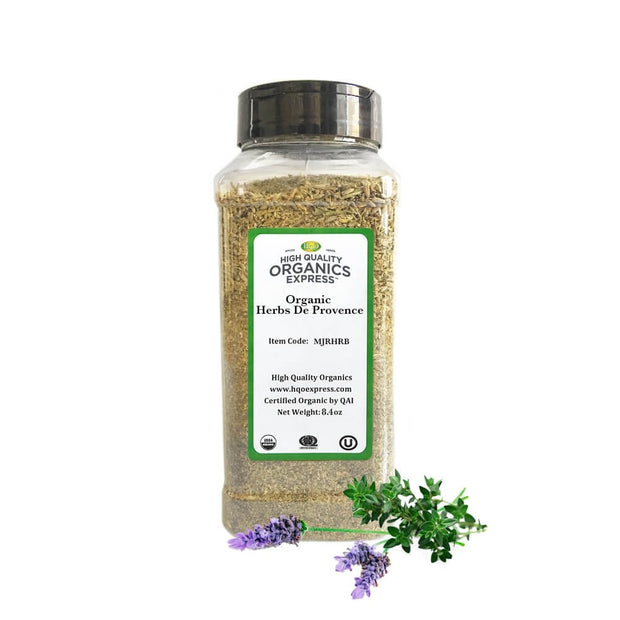High Quality Organics Express Herbs De Provence Jar