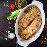 High Quality Organics Express Kosher Salt Salmon
