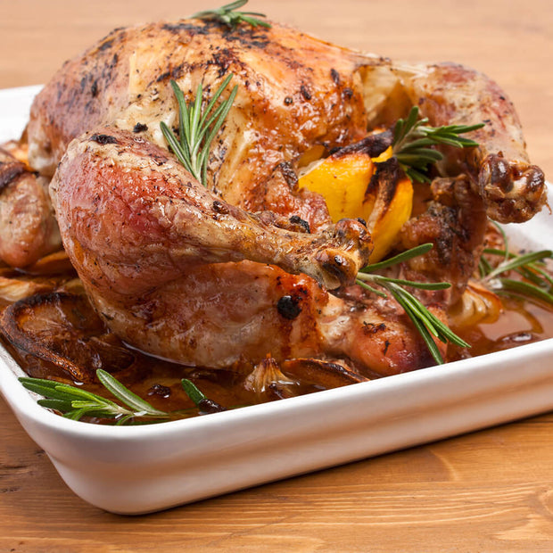 High Quality Organics Express Lemon Pepper Roast Chicken