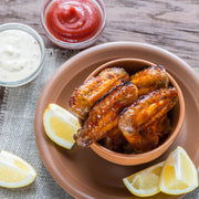 High Quality Organics Express Lemon Pepper Wings