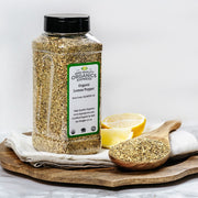 High Quality Organics Express Lemon Pepper Seasoning and Rub Display